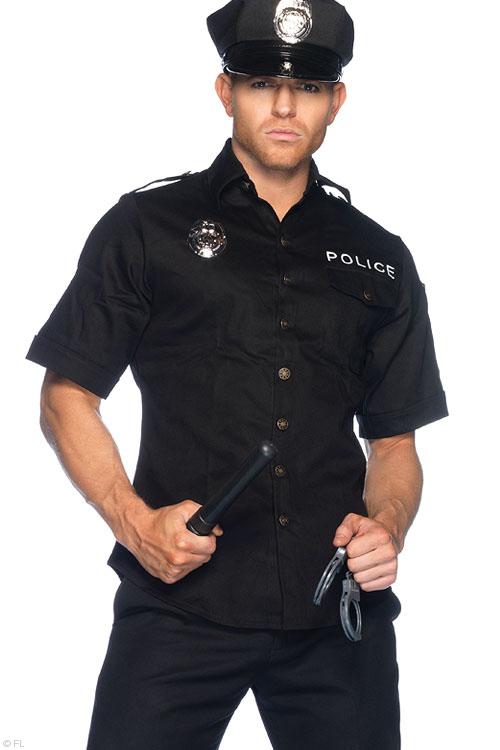 Costumes - Leg Avenue 4 Pce Police Costume