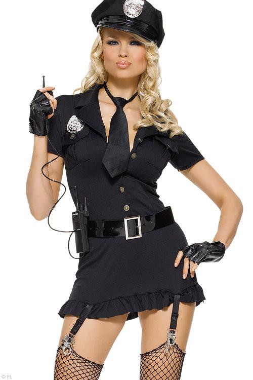 Costumes - Leg Avenue 6 Pce Police Costume