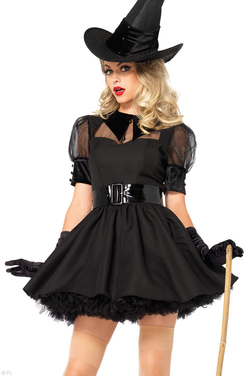 Costumes - Leg Avenue 3 Pce Witch Costume