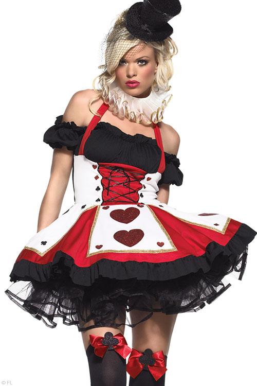 Costumes - Leg Avenue 2 Pce Queen of Hearts Costume