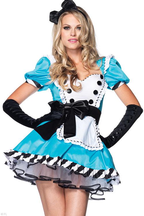 Costumes - Leg Avenue 2 Pce Alice Costume