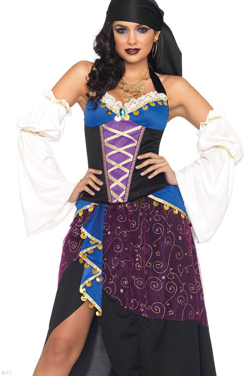 Costumes - Leg Avenue 4 Pce Gypsy Costume