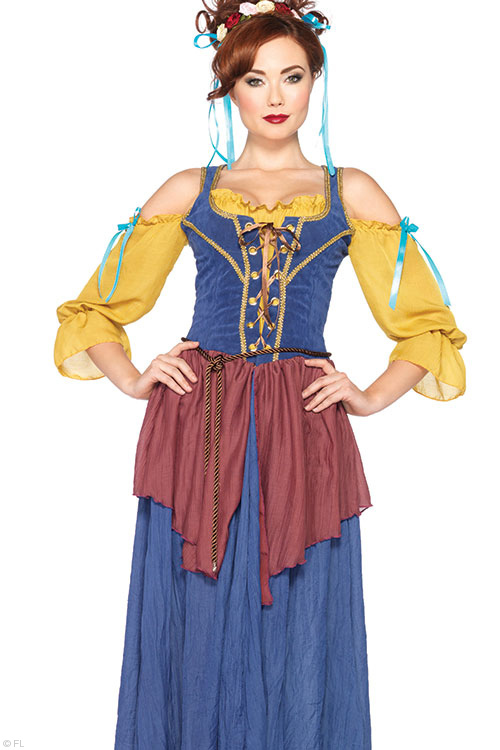 Costumes - Leg Avenue Peasant Maid Costume