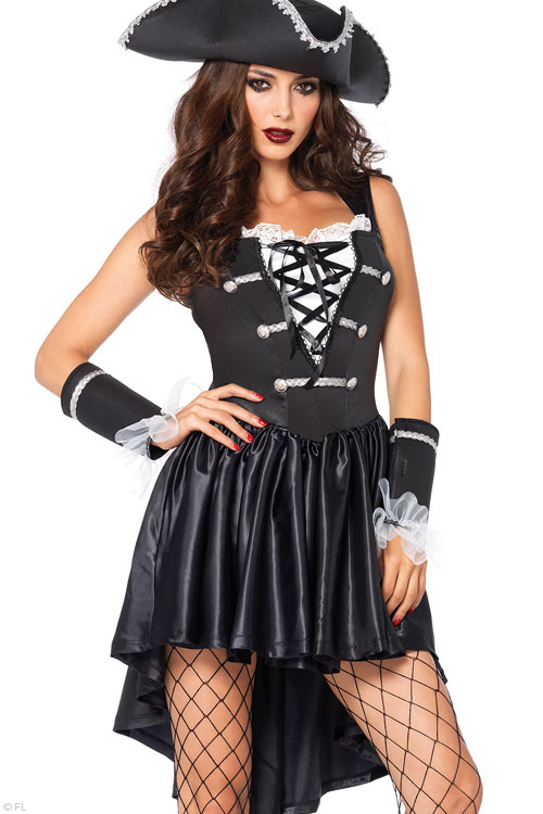Costumes - Leg Avenue 3 Pce Pirate Costume