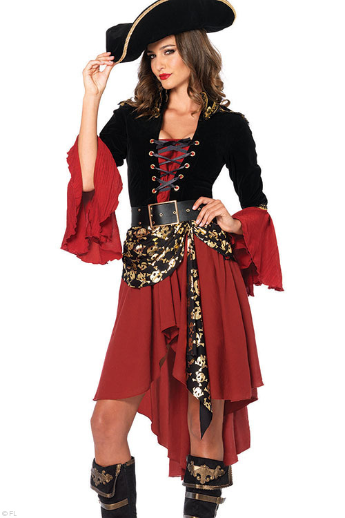Costumes - Leg Avenue 2 Pce Pirate Costume