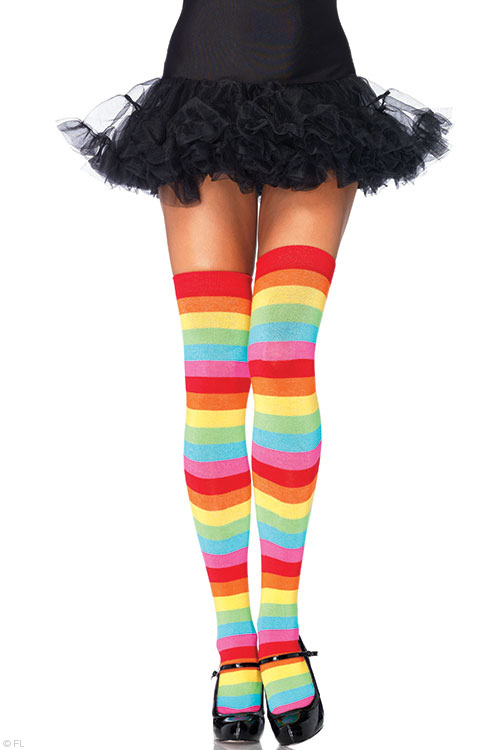 Lingerie - Leg Avenue Multi Coloured Socks