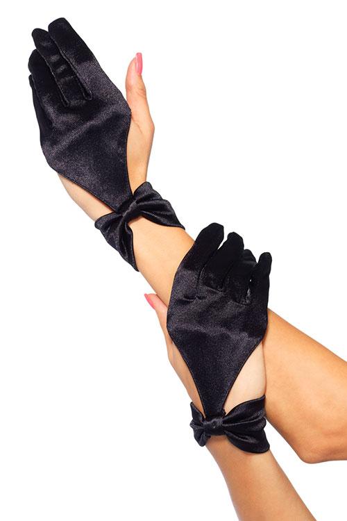 Lingerie - Leg Avenue Deluxe Satin Gloves