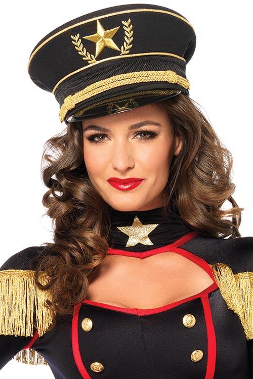 Lingerie - Leg Avenue Military Hat