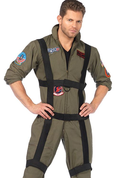 Costumes - Leg Avenue 3 Pce Top Gun Costume