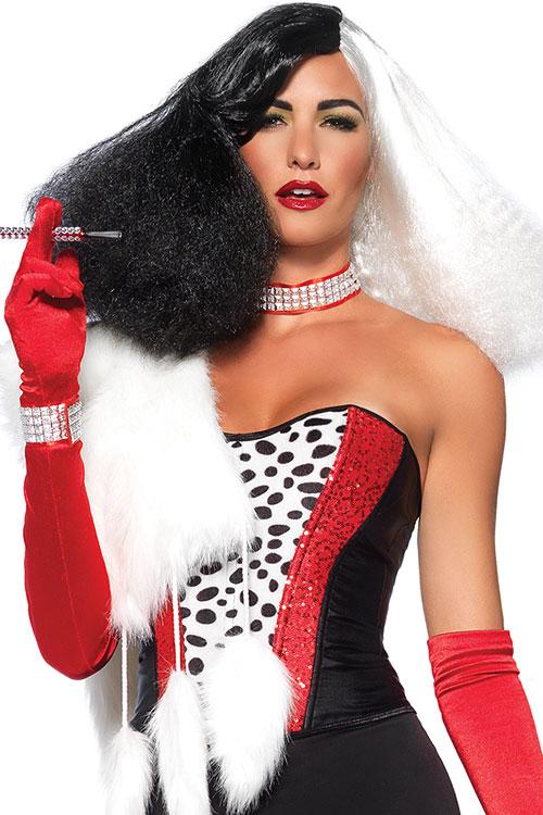 Costumes - Leg Avenue Cruella De Vil Wig