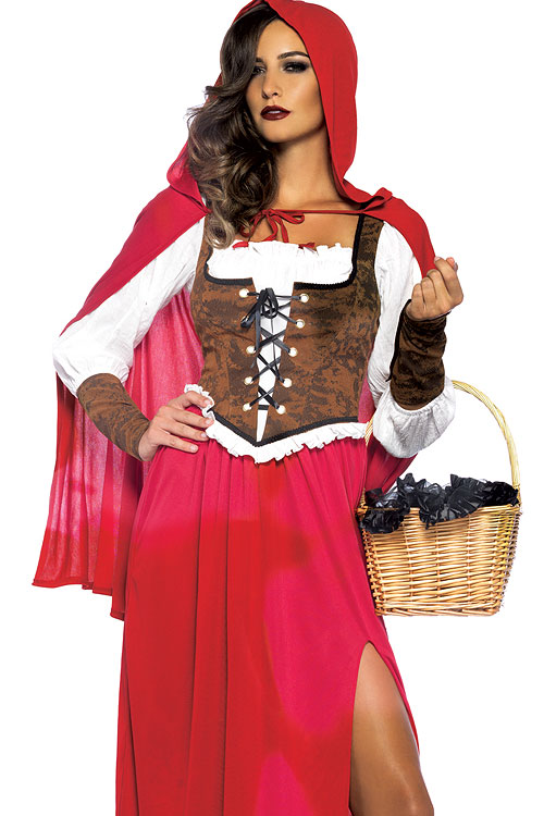 Costumes - Leg Avenue 3 Pce Red Riding Hood Costume