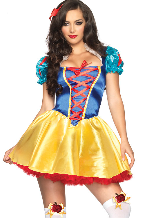 Costumes - Leg Avenue 2 Pce Snow White Costume