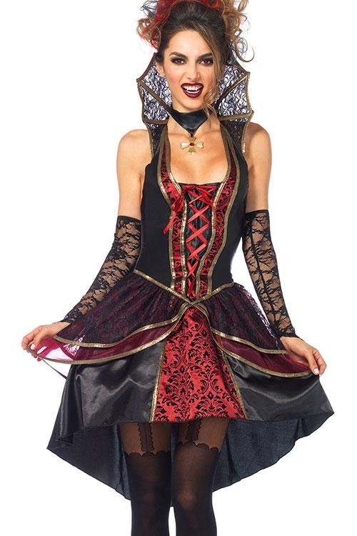 Costumes - Leg Avenue 3 Pce Vampire Costume