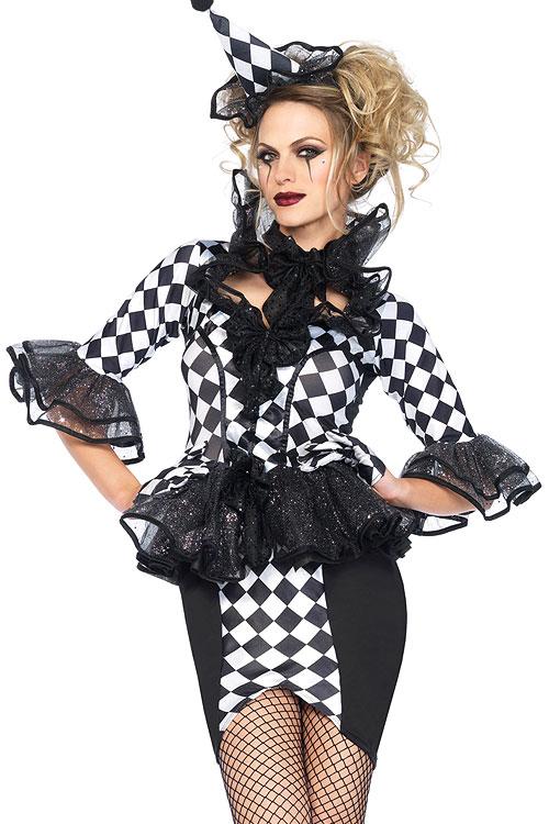 Costumes - Leg Avenue 3 Pce Harlequin Costume