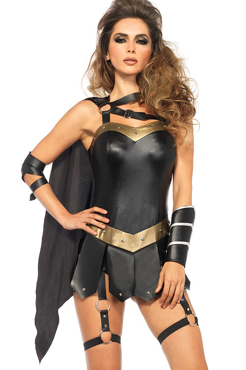 Costumes - Leg Avenue 3 Pce Warrior Costume
