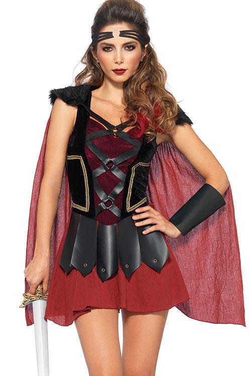 Costumes - Leg Avenue 4 Pce Warrior Costume