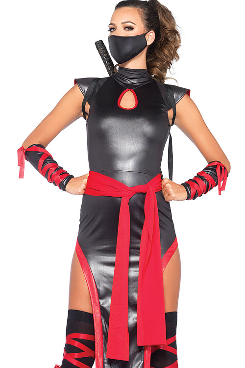 Costumes - Leg Avenue 5 Pce Ninja Costume