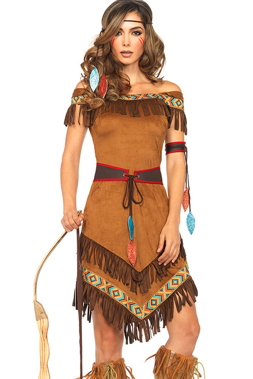 Costumes - Leg Avenue 4 Pce Native Princess Costume