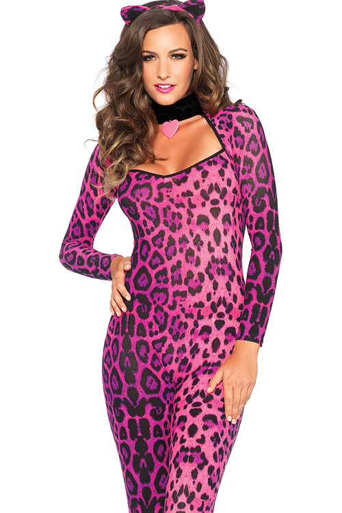 Costumes - Leg Avenue Kitty Catsuit