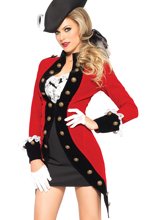 Costumes - Leg Avenue 4 Pce Pirate Costume