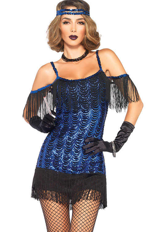 Costumes - Leg Avenue 2 Pce Flapper Costume