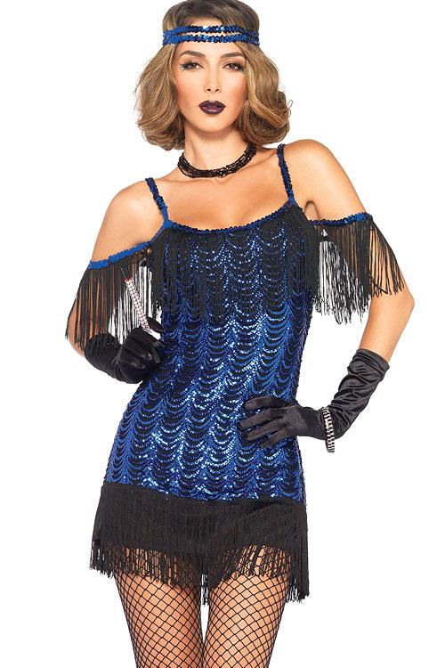 Costumes - Leg Avenue 2 Pce Flapper Costume