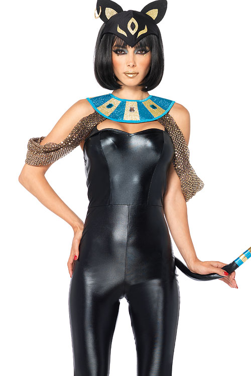 Costumes - Leg Avenue 3 Pce Egyptian Cat Costume