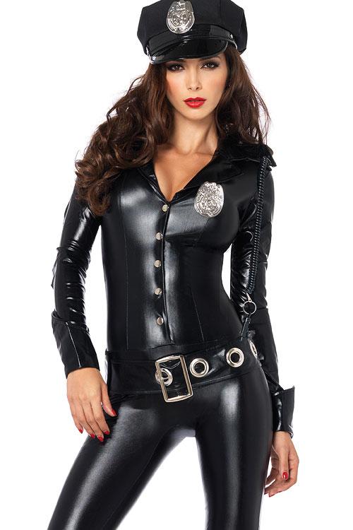 Costumes - Leg Avenue 4 Pce Cop Costume