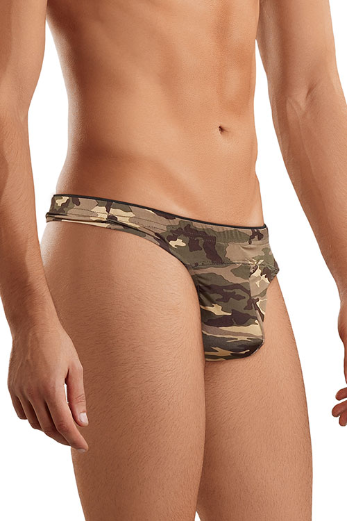 Lingerie - Male Power Camoflage Thong