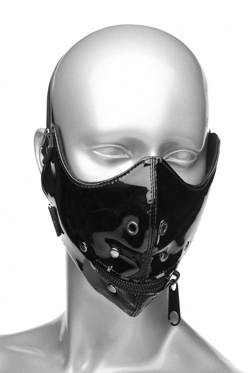 Bondage - Master Series Lektor Zipper Mouth Muzzle