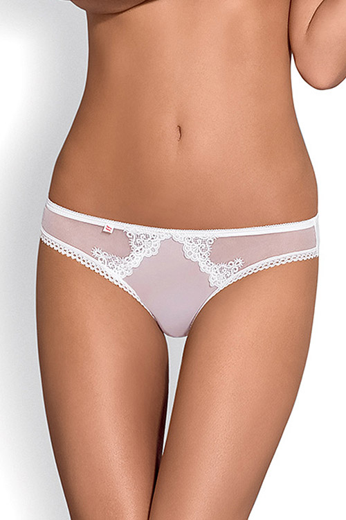 Lingerie - Obsessive Angelic White Panties