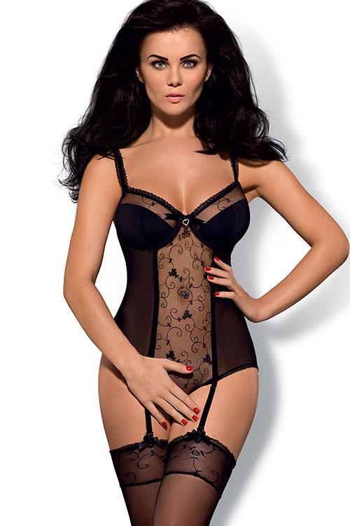 Lingerie - Obsessive Rosana Bodysuit