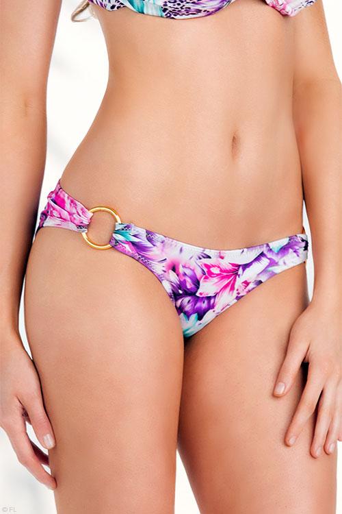 Oh La La Cheri Exotic Print Bikini Bottoms