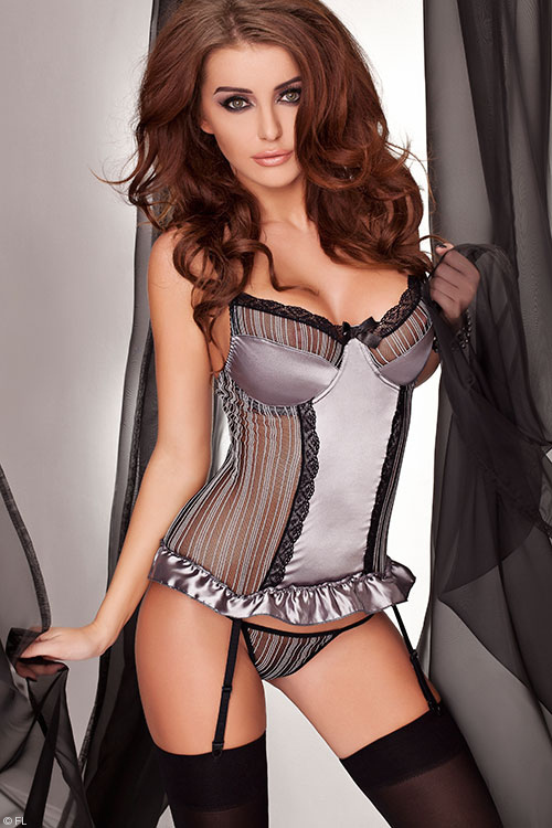 Lingerie - Passion Casablanca Corset with Thong