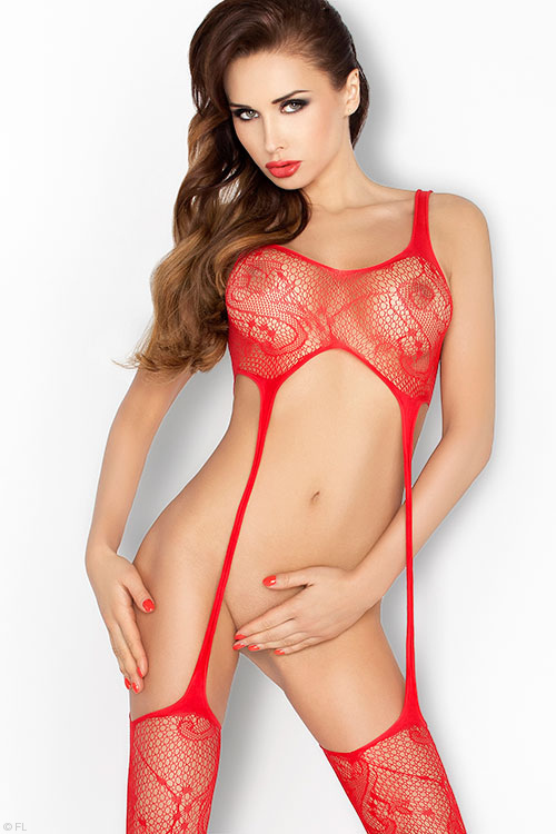 Lingerie - Passion Erotic Fine Net Bodystocking
