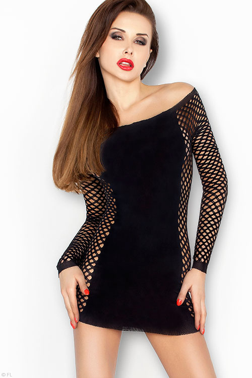 Lingerie - Passion Erotic Electrifying Bodystocking Top
