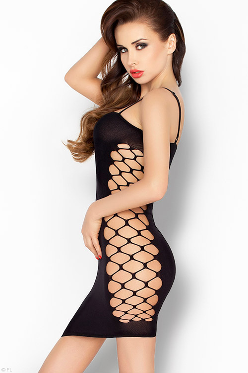 Lingerie - Passion Erotic Curve Exposing Bodystocking