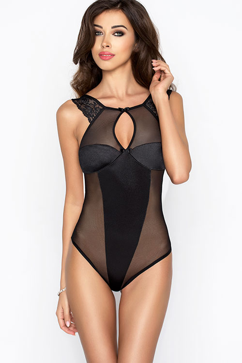 Lingerie - Passion Erotic Sleek-Look Bodysuit