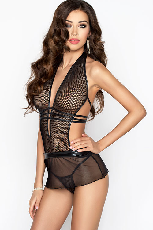 Lingerie - Passion Erotic Maresol Chemise with Thong