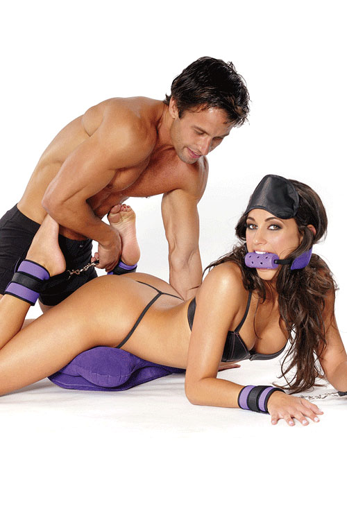 Purple Pleasure Bondage Set (6 Pce)