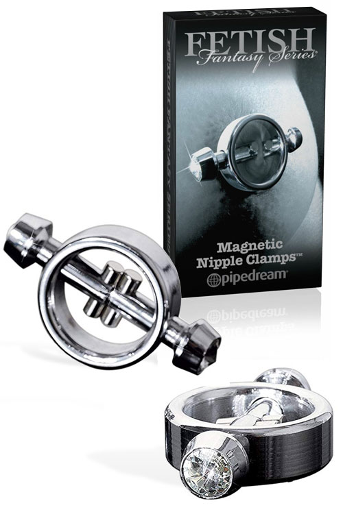 Fetish Fantasy Limited Edition Magnetic Nipple Clamps (2 Pk)