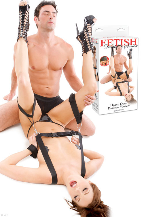 Sex Position Master with Shoulder & Thigh Straps