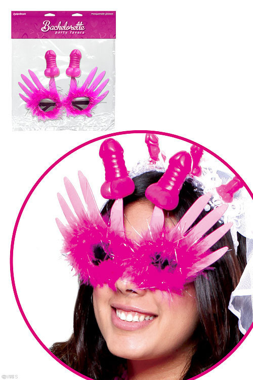 Novelties - Pipedream Bachelorette Party Masquerade Glasses