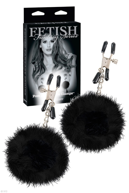 Pipedream Limited Edition Pom Pom Nipple Clamps