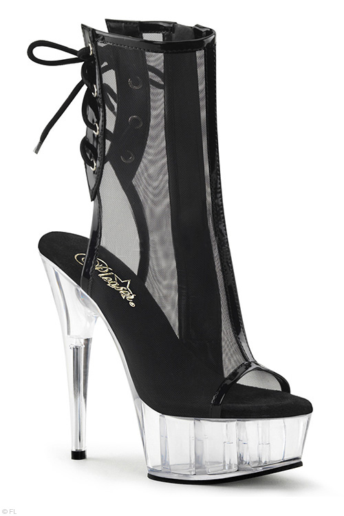 "Footwear - Pleaser 6"" Heel Ankle Boots"