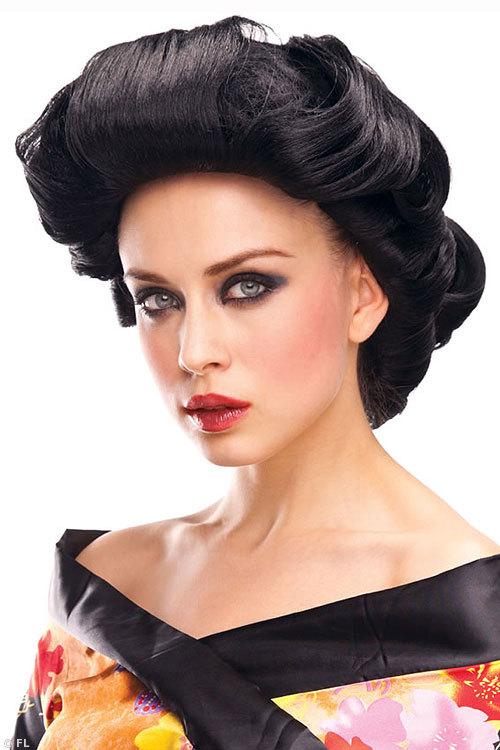 Pleasure Wigs Geisha Wig - Black