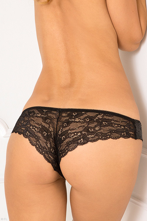 Lingerie - Rene Rofe Lace with Sequin Panty