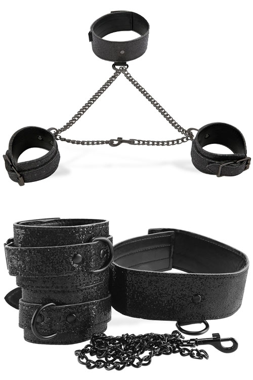 Shadow Sparkle Collar & Cuff Set