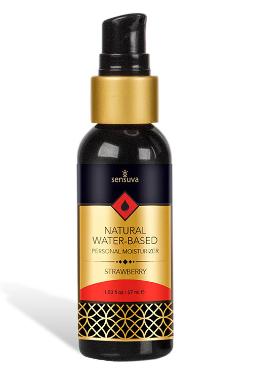 Natural Water-Based Lubricant - Strawberry (57ml)