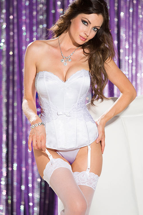 Lingerie - Shirley Of Hollywood The Ultimate Bridal Corset with G-String
